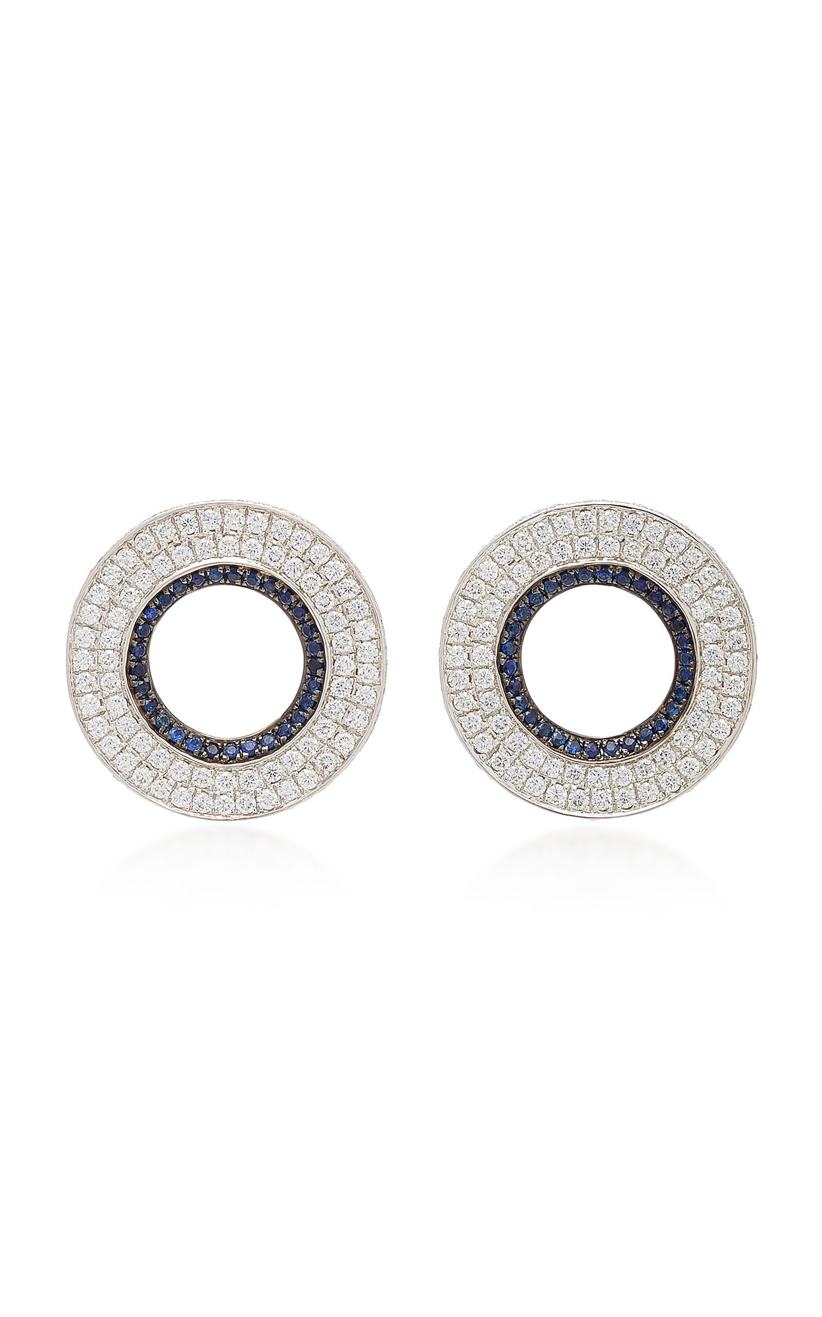 Ralph Masri Modernist Circular Earrings