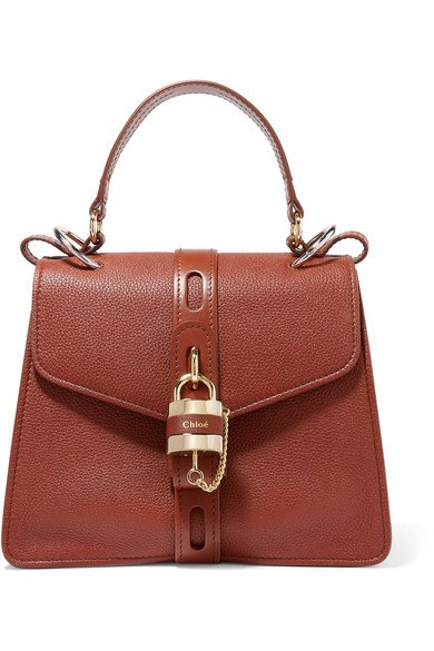 Chloé | Aby textured-leather tote | NET-A-PORTER.COM