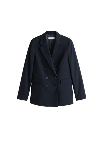 MANGO Double-breasted blazer