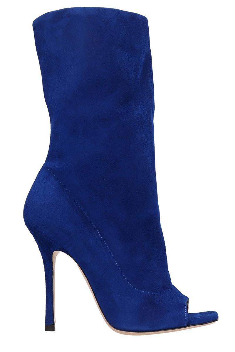 Marc Ellis Blue Suede Boots