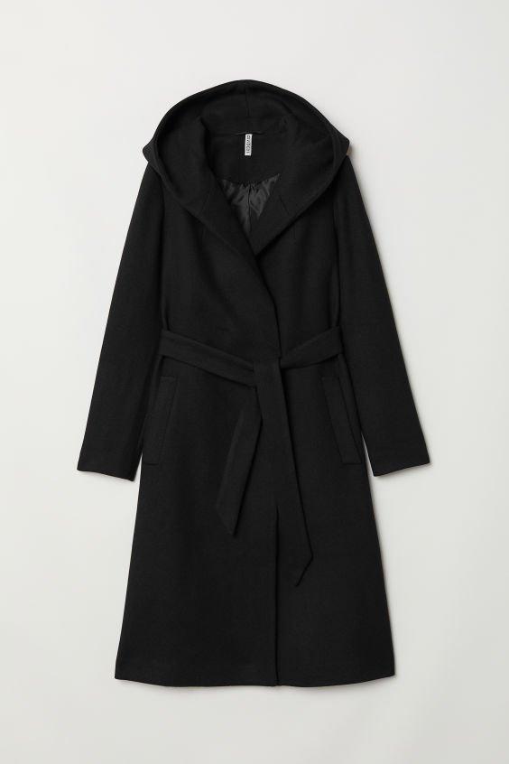 Wool-blend Coat - Black - Ladies   H&M US