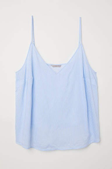 H&M+ V-neck Camisole Top - Blue