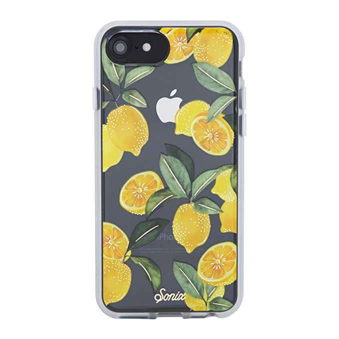 Amazon.com: iPhone 8, 7, 6, Sonix LEMON ZEST Cell Phone Case [Military Drop Test Certified] Sonix Clear Coat Series for Apple iPhone 6, 6s, 7, 8: Cell Phones & Accessories