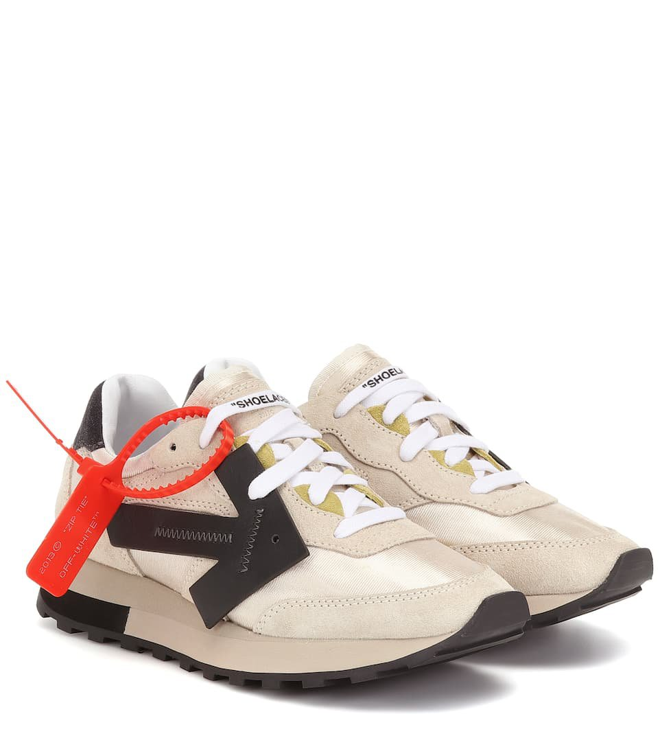 Hg Runner Suede Sneakers | Off-White - Mytheresa