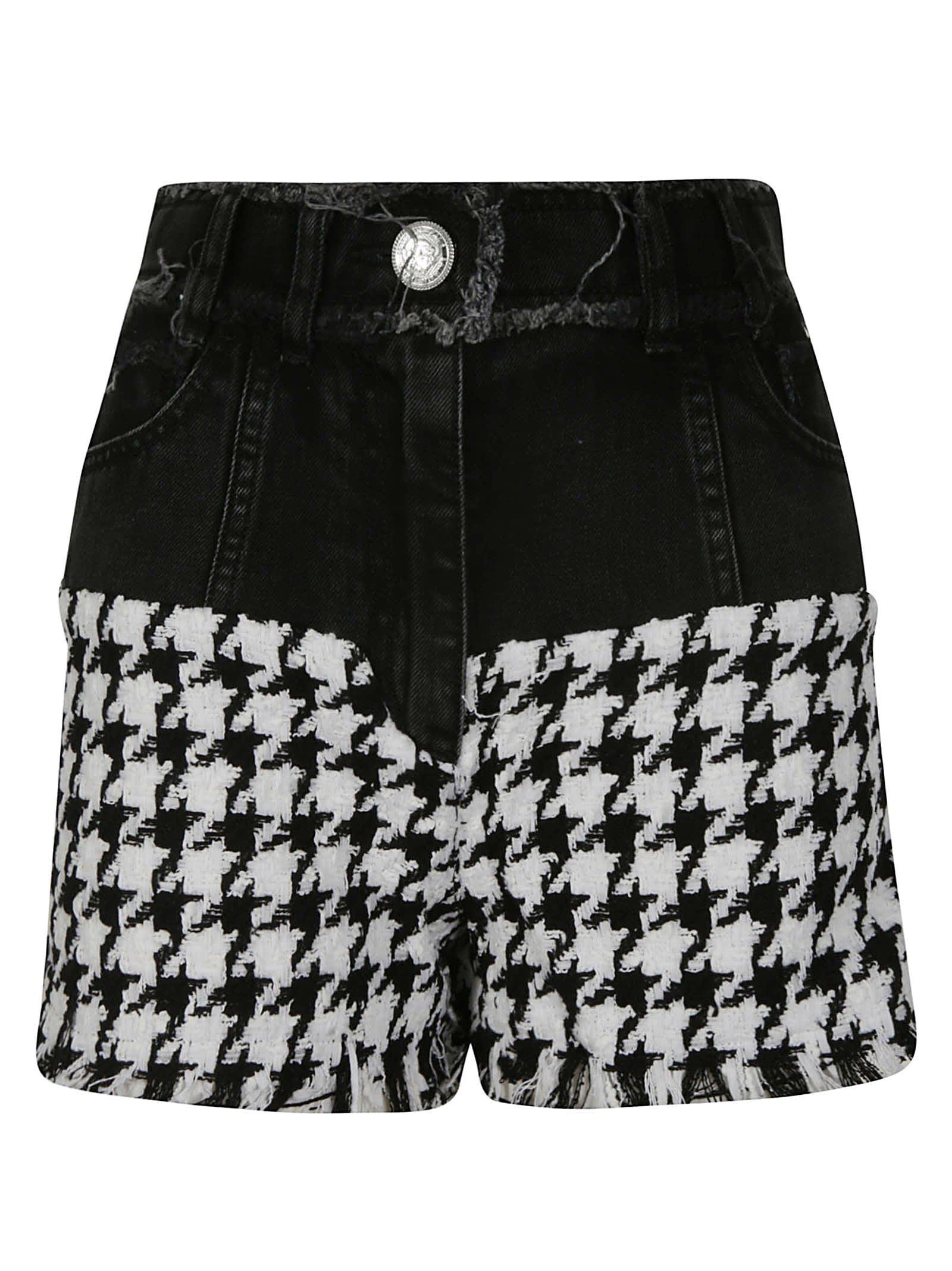 Balmain Frayed Shorts