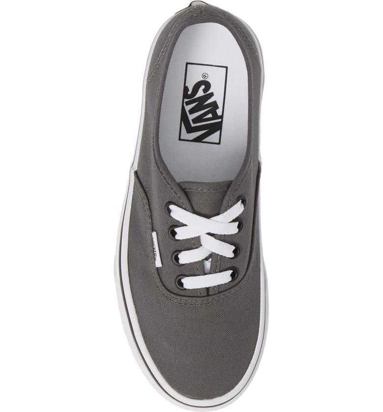 Vans 'Authentic' Sneaker (Women) Grey