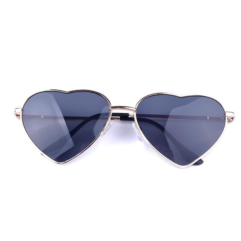 Heart Shaped Womens Sunglasses