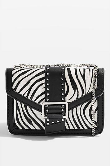 Samira Zebra Bucket Bag - Trend: Animal Print - Clothing - Topshop