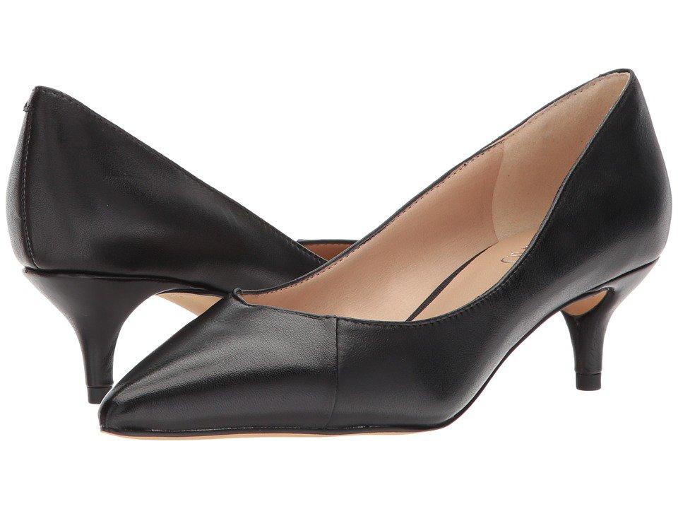 Franco Sarto - Donnie (Black Nappa) Women's 1-2 inch heel Shoes