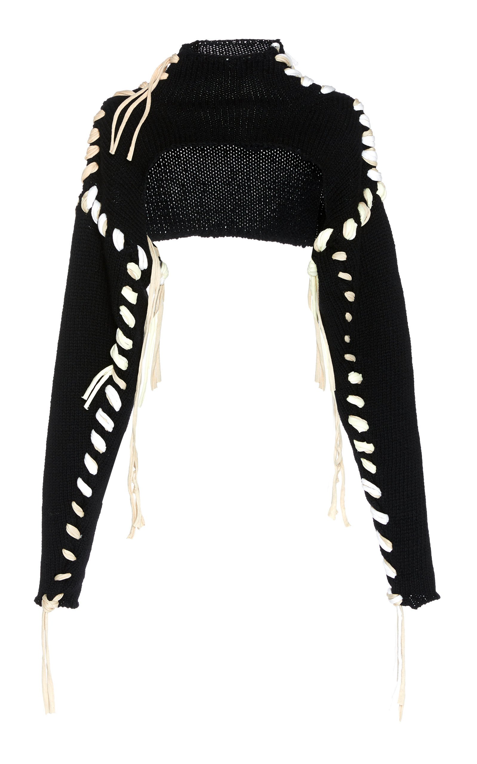 Kacee Lace-Up Wool Jumper by Acne Studios | Moda Operandi
