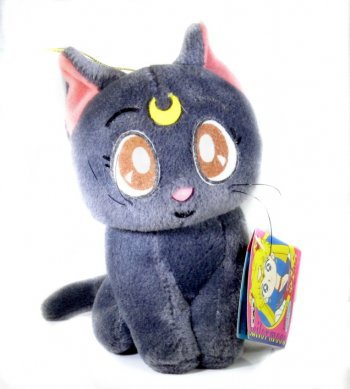 Vintage Sailor Moon Luna Plush UFO Catcher With Tag D Vintage Sailor Moon Luna Plush UFO Catcher With Tag D [] - $13.00 : Avaneshop, Avane vintage toys, games, anime and collectibles