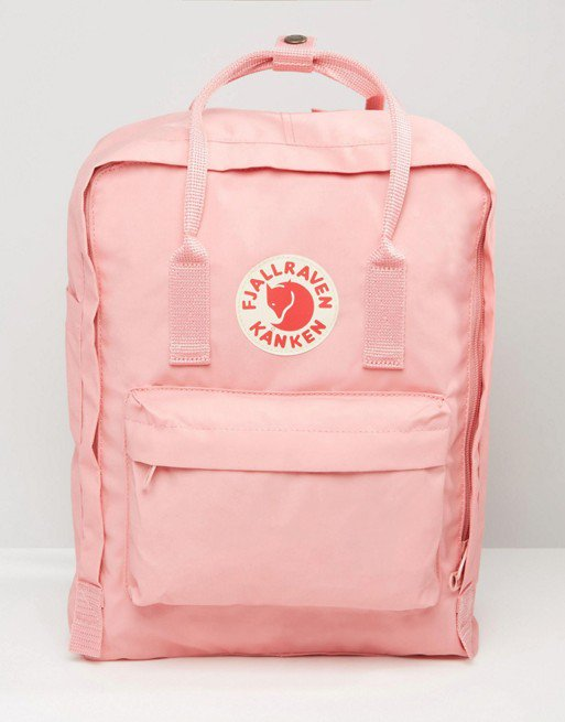 Fjallraven Classic Kanken Backpack In Pastel Pink | ASOS