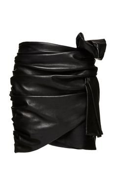 Magda Butrym Evanstone leather skirt