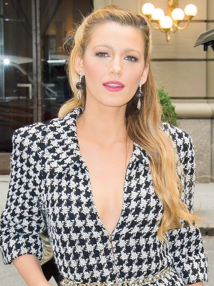 blake lively in houndstooth - Google Search