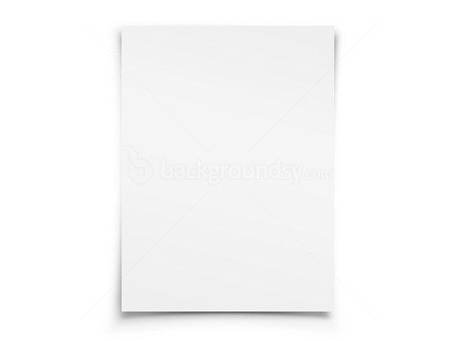 Blank white paper | Backgroundsy.com