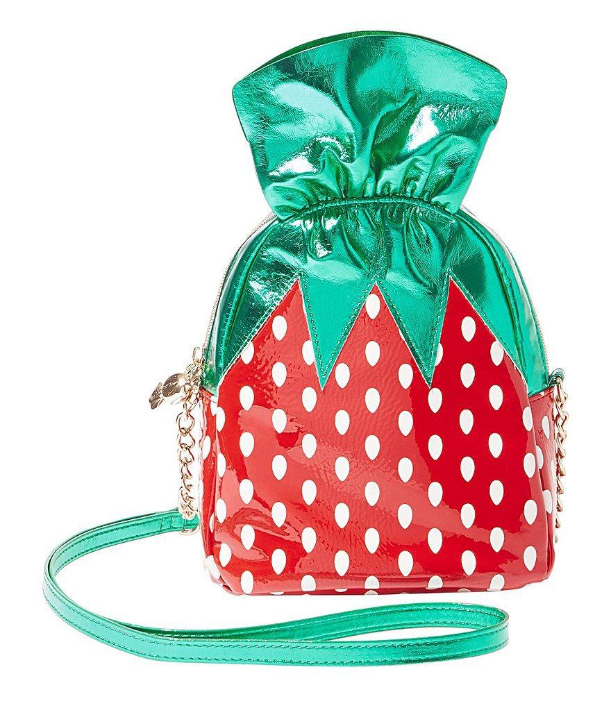 Betsey Johnson Strawberry Candy Cross-Body Bag | Dillards