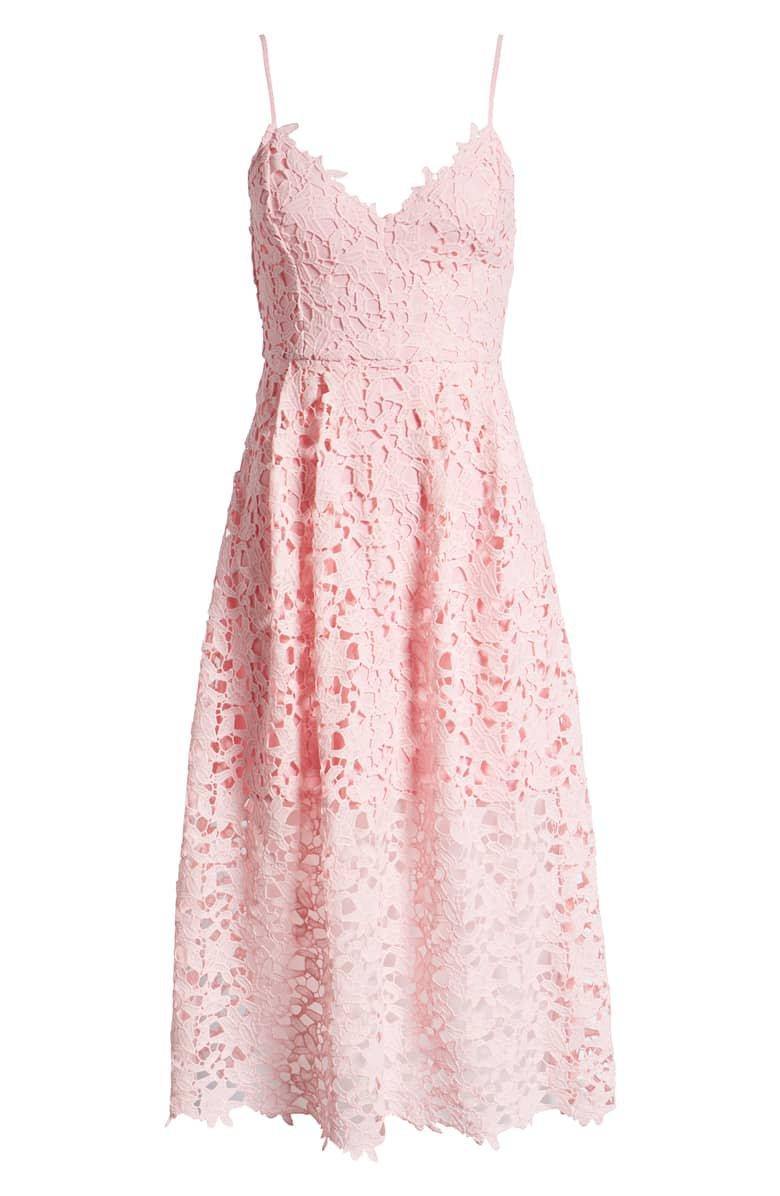 ASTR the Label Lace Midi Dress | Nordstrom