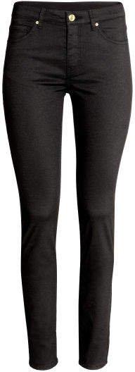 Super-slim-fit Pants - Black