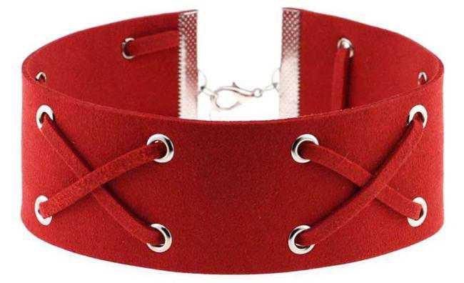 ROXY [RED]    UNHOLY // necklace / choker //