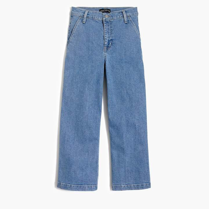 "10"" highest-rise wide-leg jean"