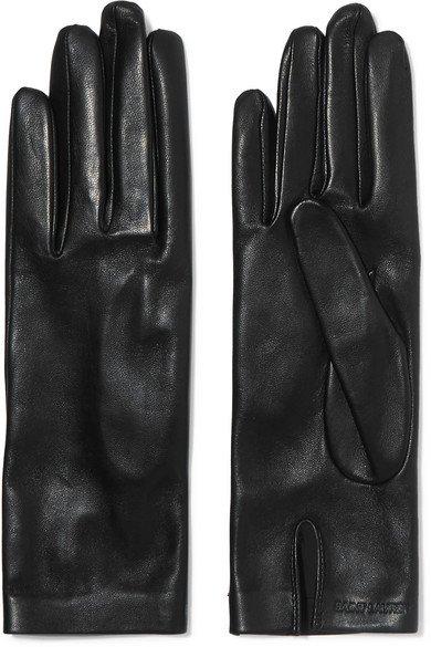 Saint Laurent | Leather gloves | NET-A-PORTER.COM