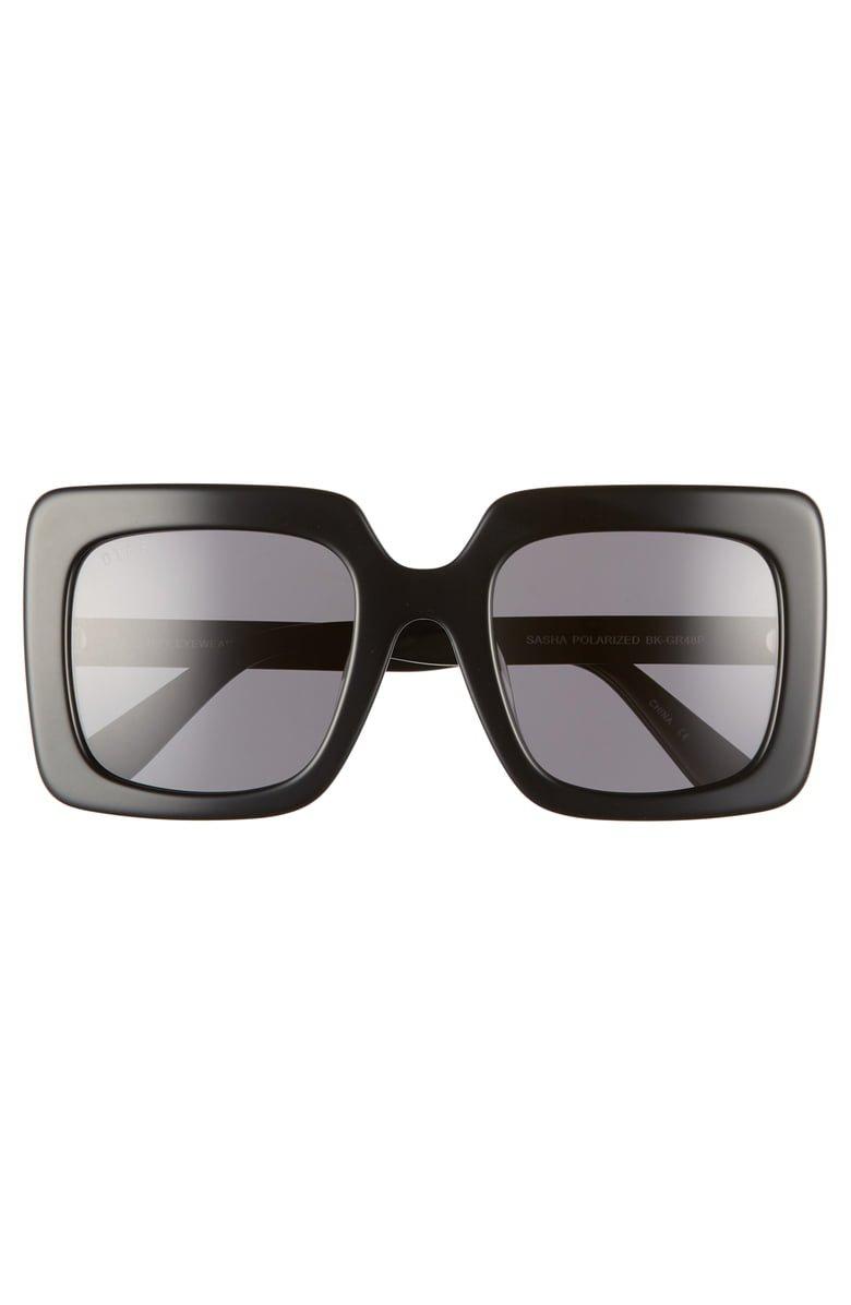 DIFF Sasha 53mm Polarized Sunglasses   Nordstrom