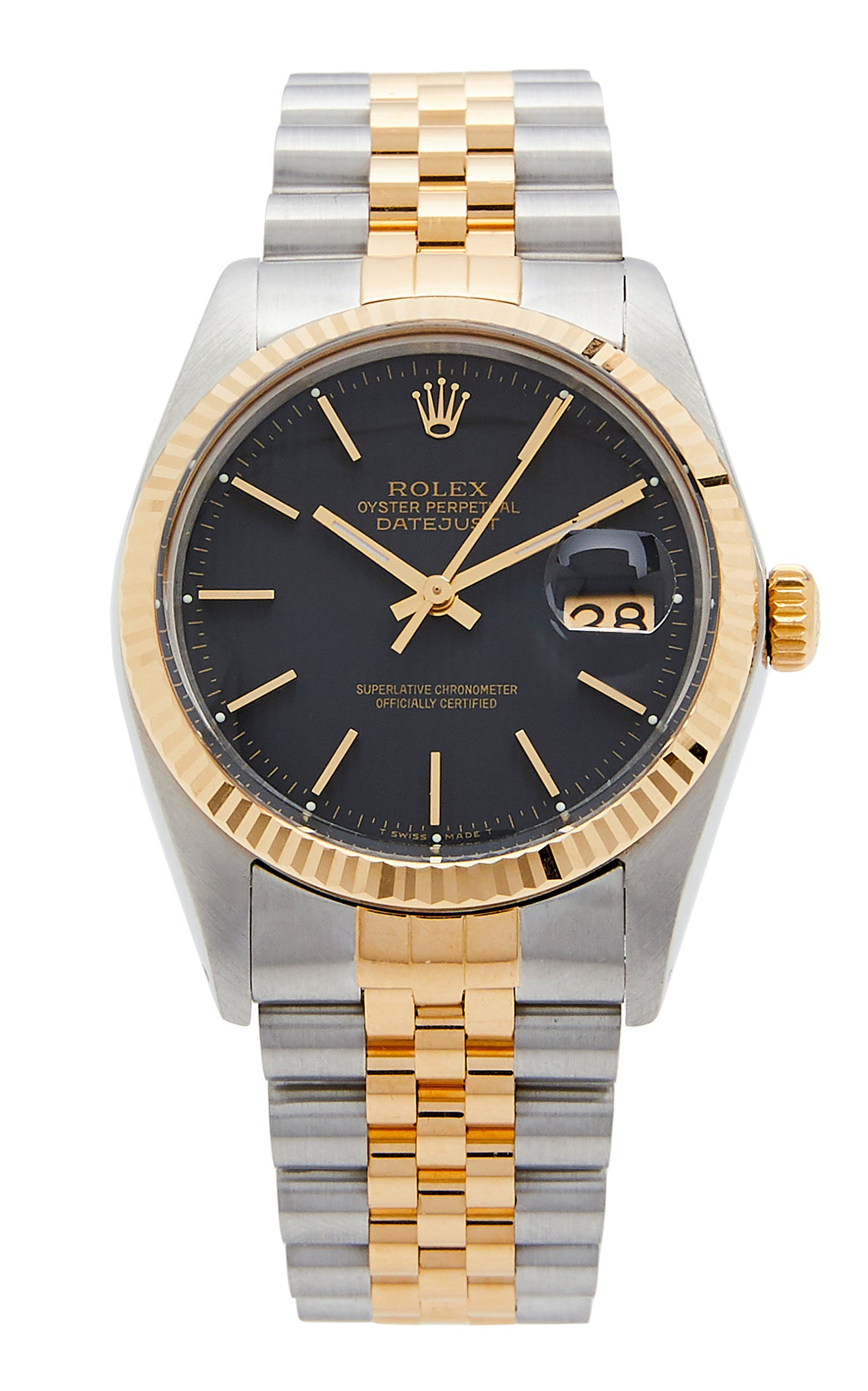 Vintage Watches Vintage Rolex Two Tone Date 36mm