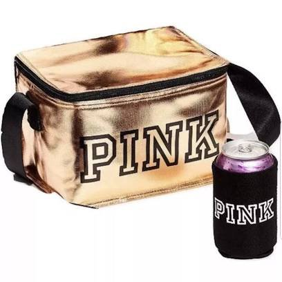 vs pink gold lunch bag - Google Search