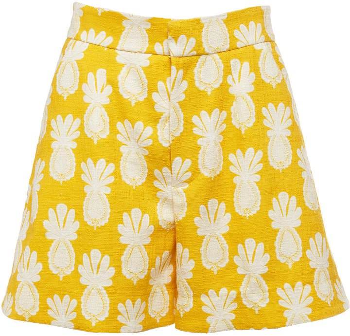 La DoubleJ Good Butt High-Rise Printed Shorts Size: XS