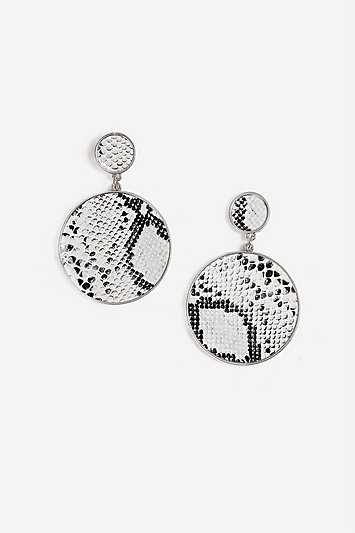 Double Loop Beaded Earrings - Topshop USA