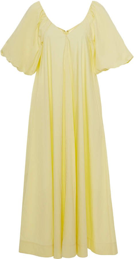 Co Cotton-Blend Poplin Trapeze Dress Size: S