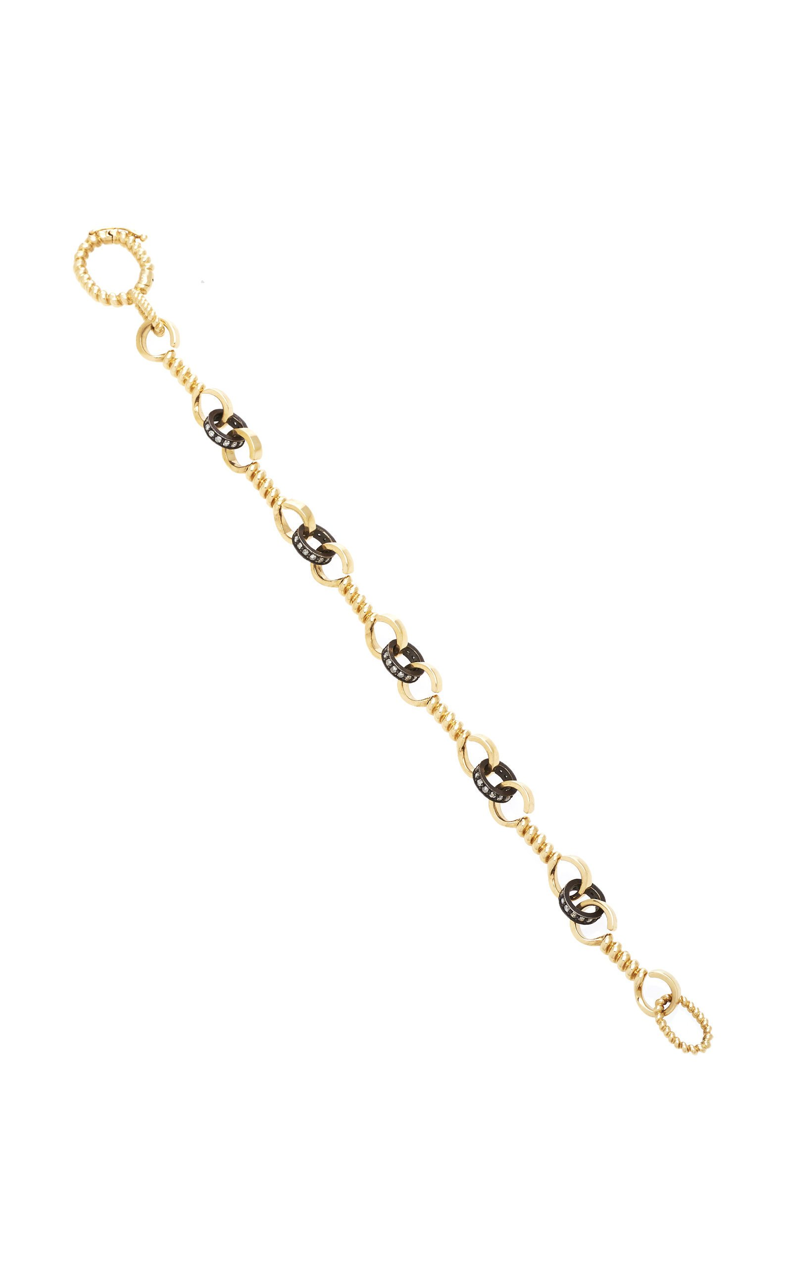 Nancy Newberg Twist bar link bracelet