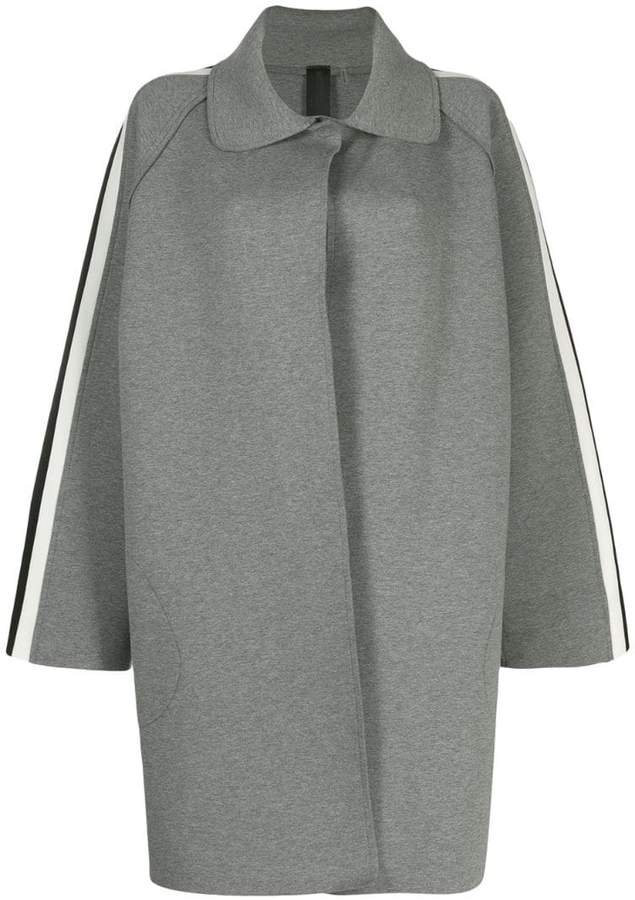 side stripe trench coat