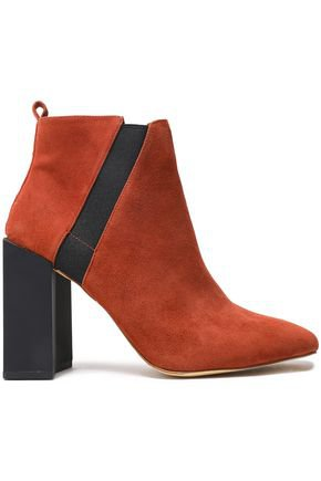 Paddle lace-up suede ankle boots | LAURENCE DACADE | Sale up to 70% off | THE OUTNET