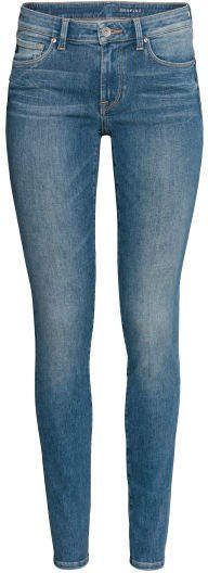 Shaping Skinny Low Jeans - Blue