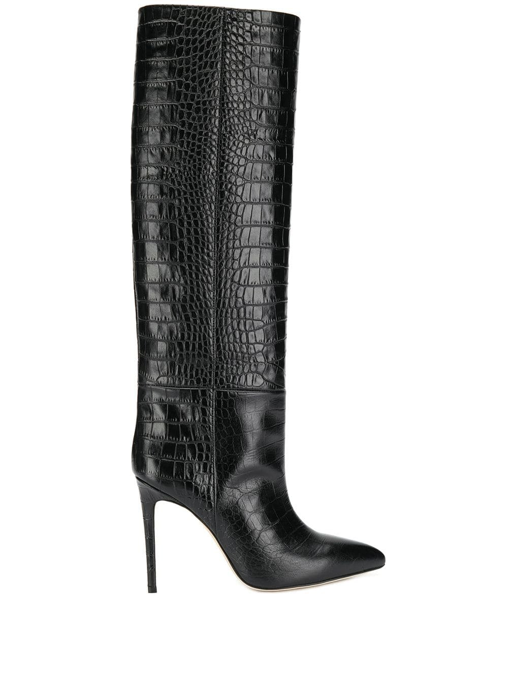 Paris Texas Croco long boots £517 - Fast Global Shipping, Free Returns