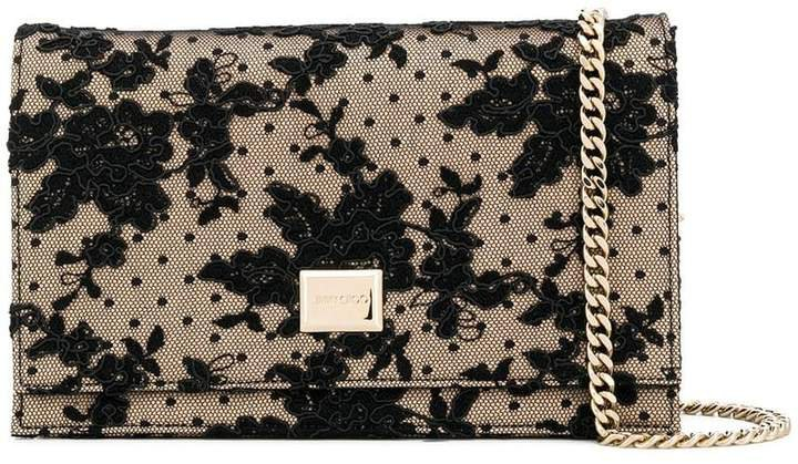 Lizzie lace clutch bag