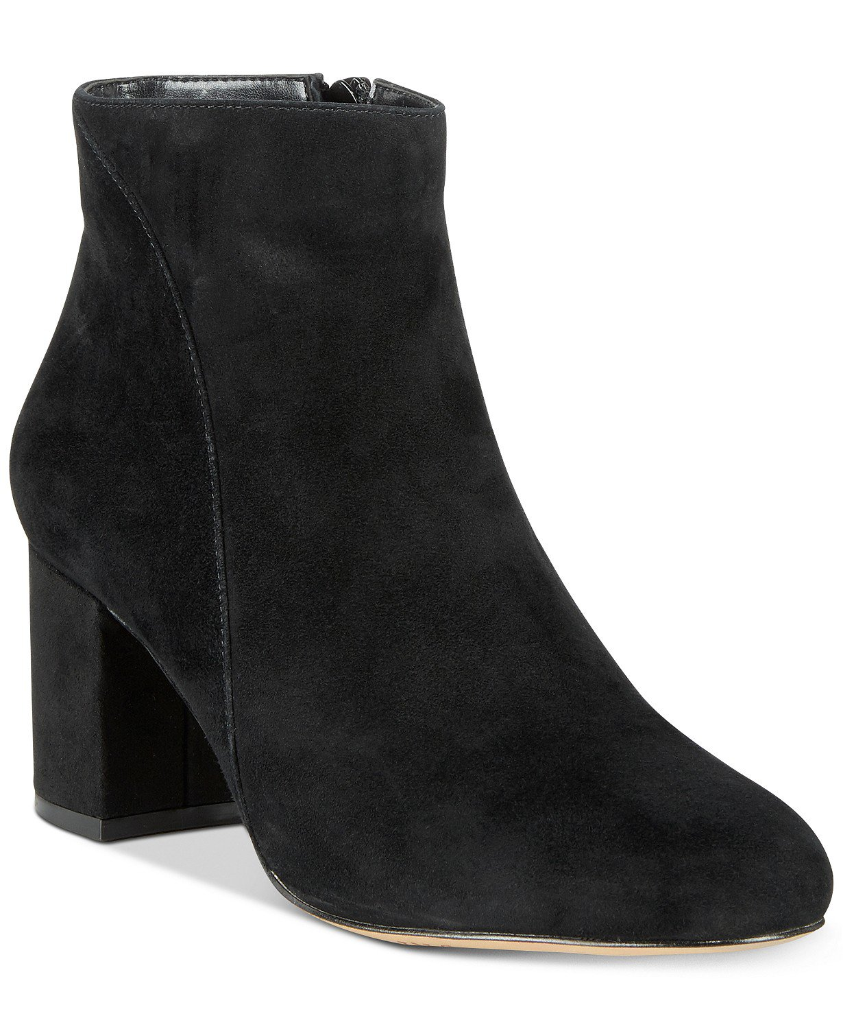 INC International Concepts INC Floriann Block-Heel Ankle Booties, Created for Macy's & Reviews - Boots - Shoes - Macy's