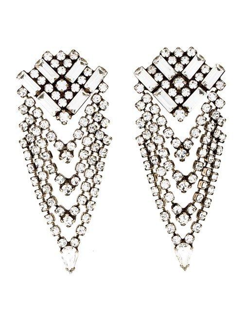 Dannijo Crystal Mariella Earrings - Earrings - W1J22103 | The RealReal