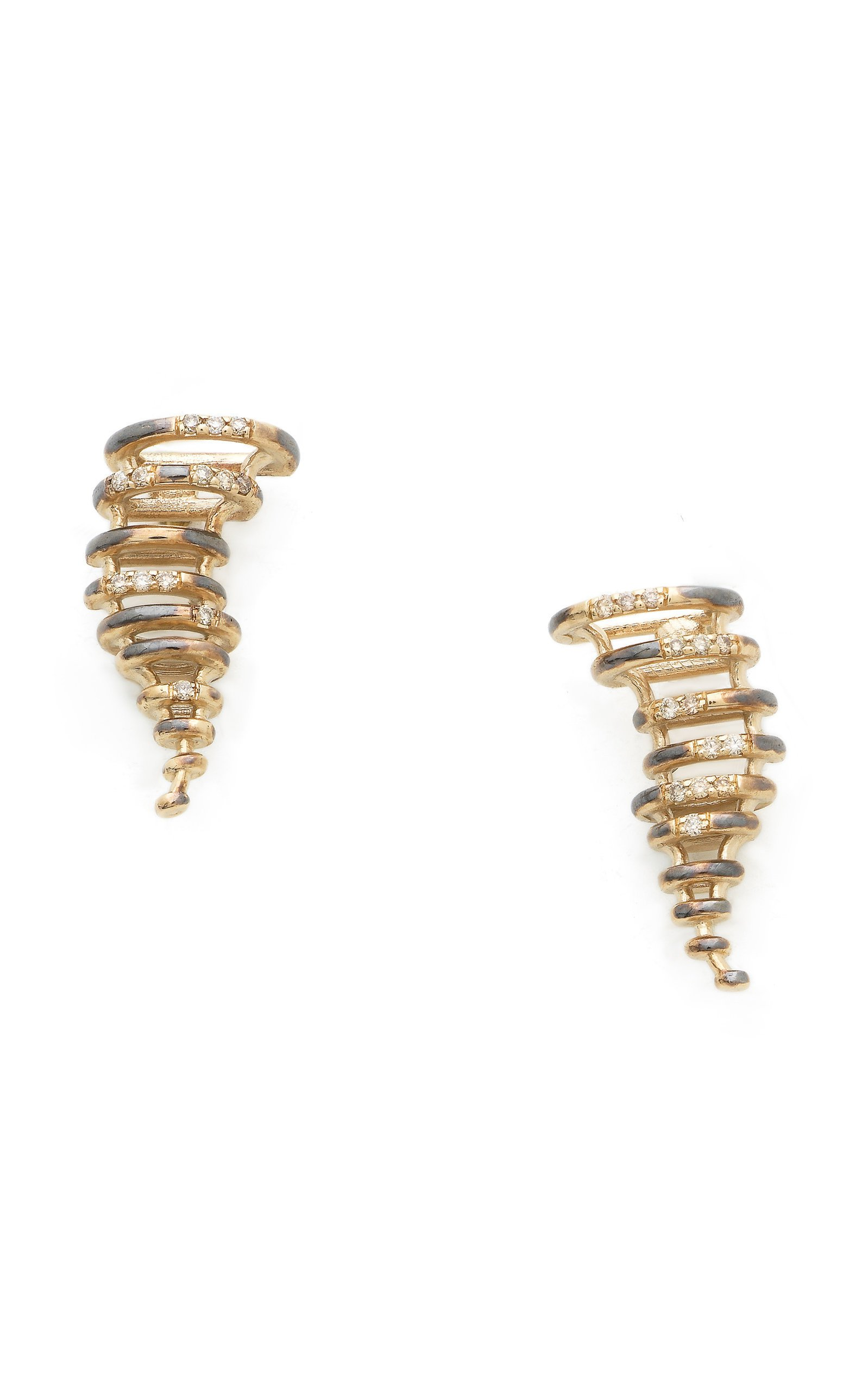 Bibi van der Velden Mini Tornado Earrings