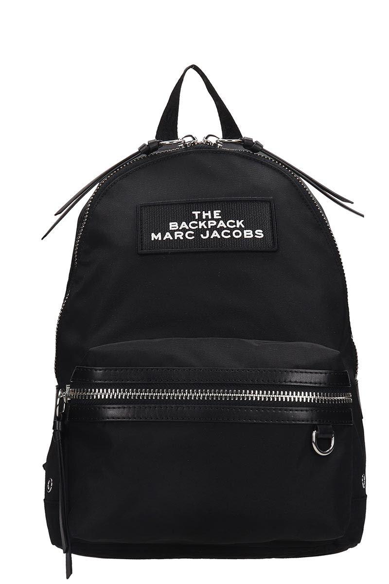 Marc Jacobs Backpack In Black Nylon