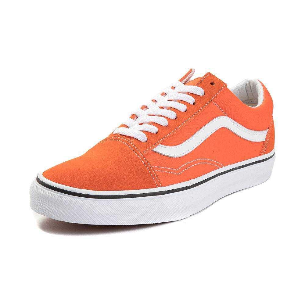 Orange vans