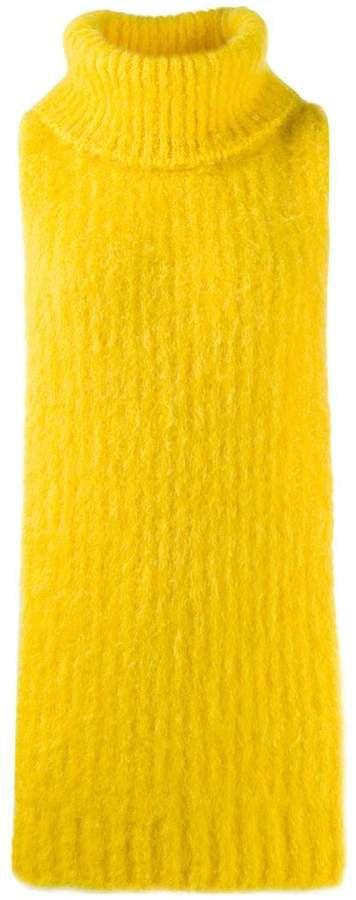 Erika sleeveless knitted top