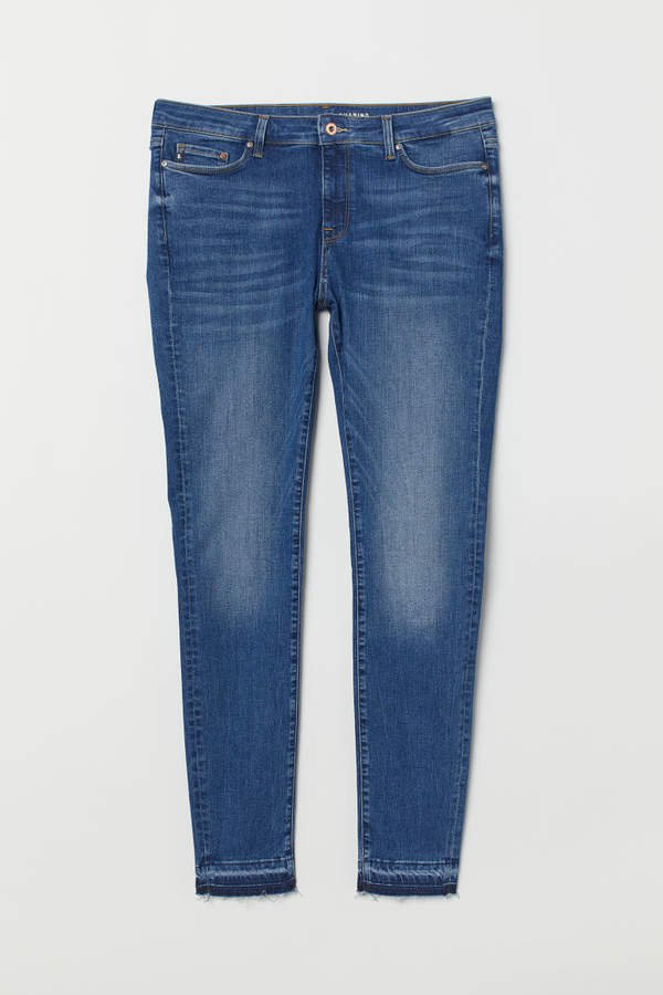 H&M+ Shaping Skinny Jeans - Blue