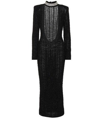 Crystal-embellished dress
