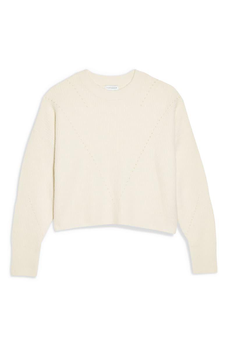 Topshop Crop Sweater   Nordstrom