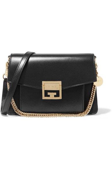 Givenchy   GV3 small leather shoulder bag   NET-A-PORTER.COM