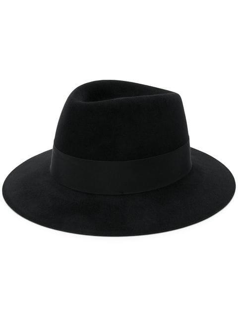 Saint Laurent Wide Brim Fedora Hat - Farfetch