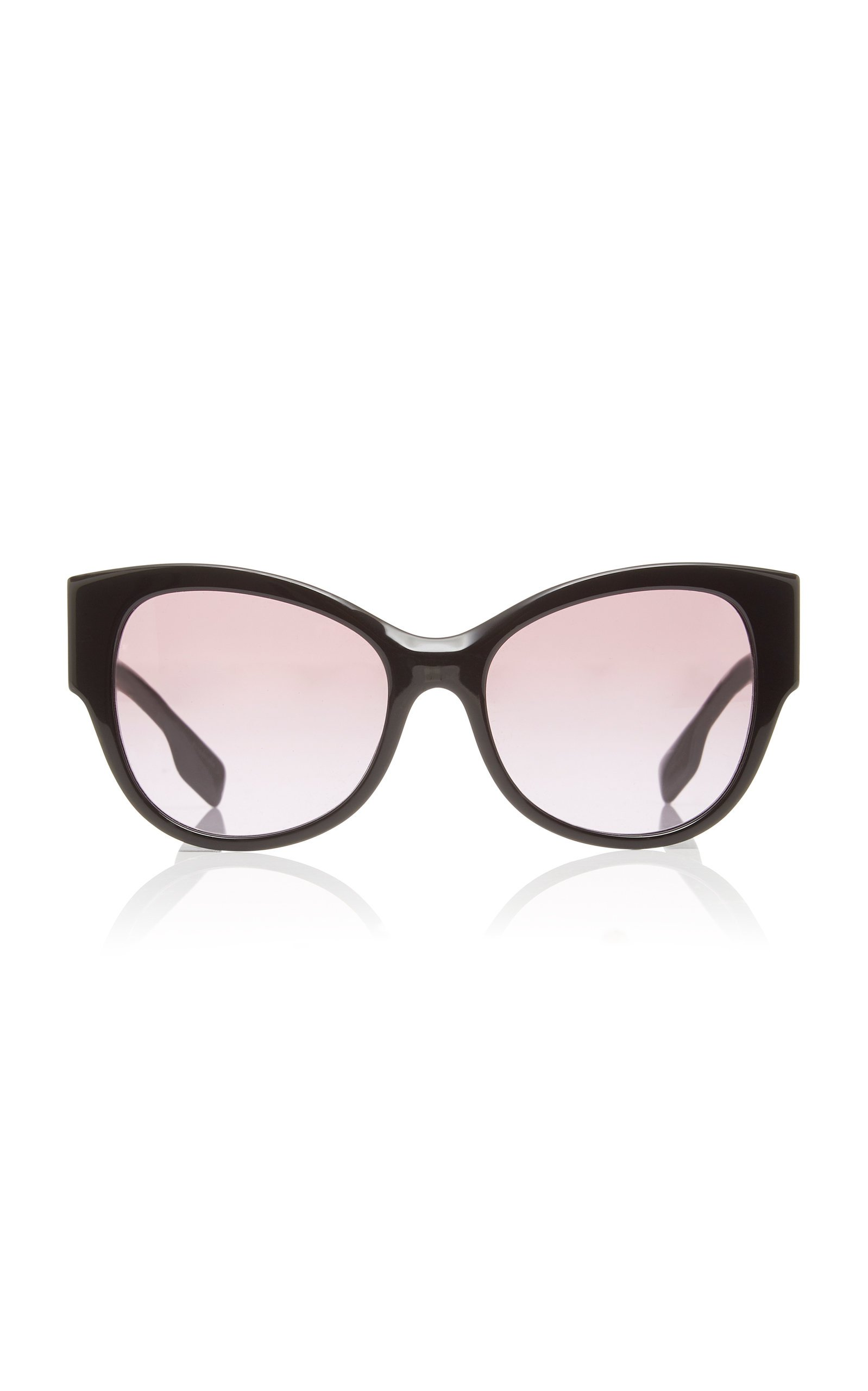 Burberry Oversized Acetate Round-Frame Sunglasses