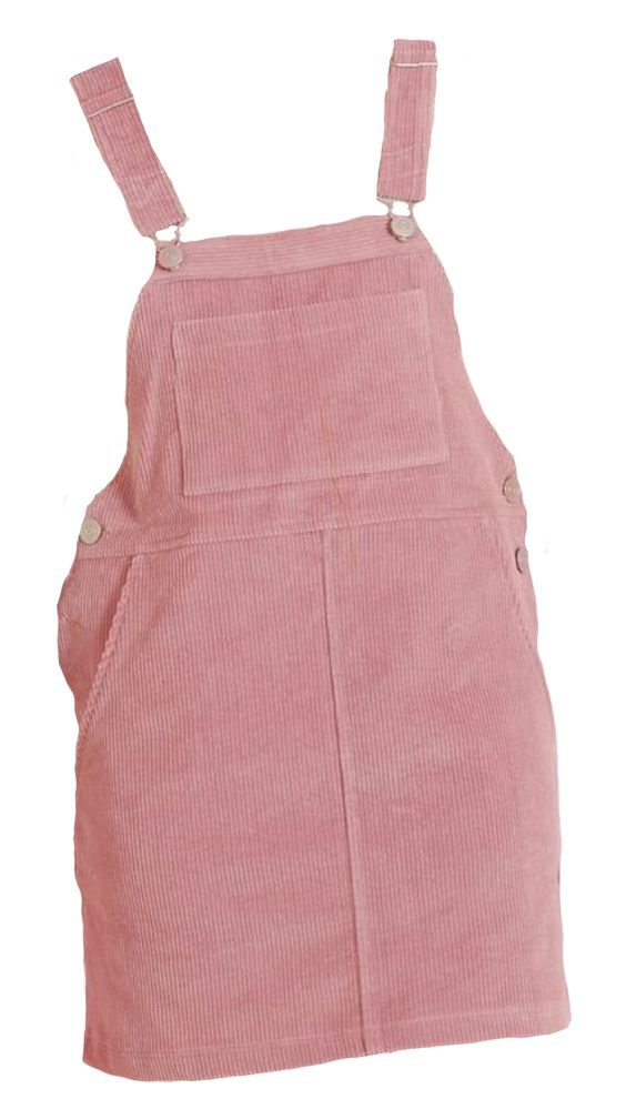 pink pinafore overall dress